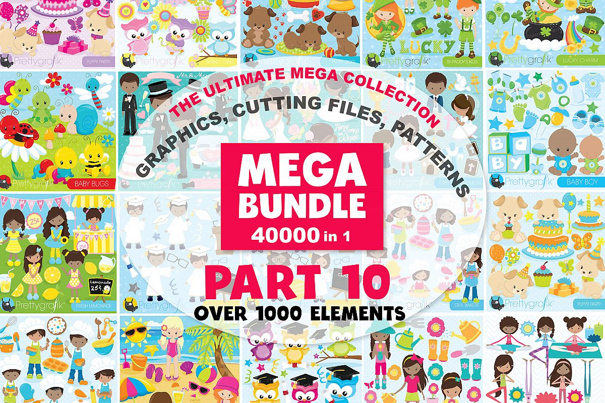 MEGA BUNDLE PART10 - 40000 in 1 Full Collection example image 1