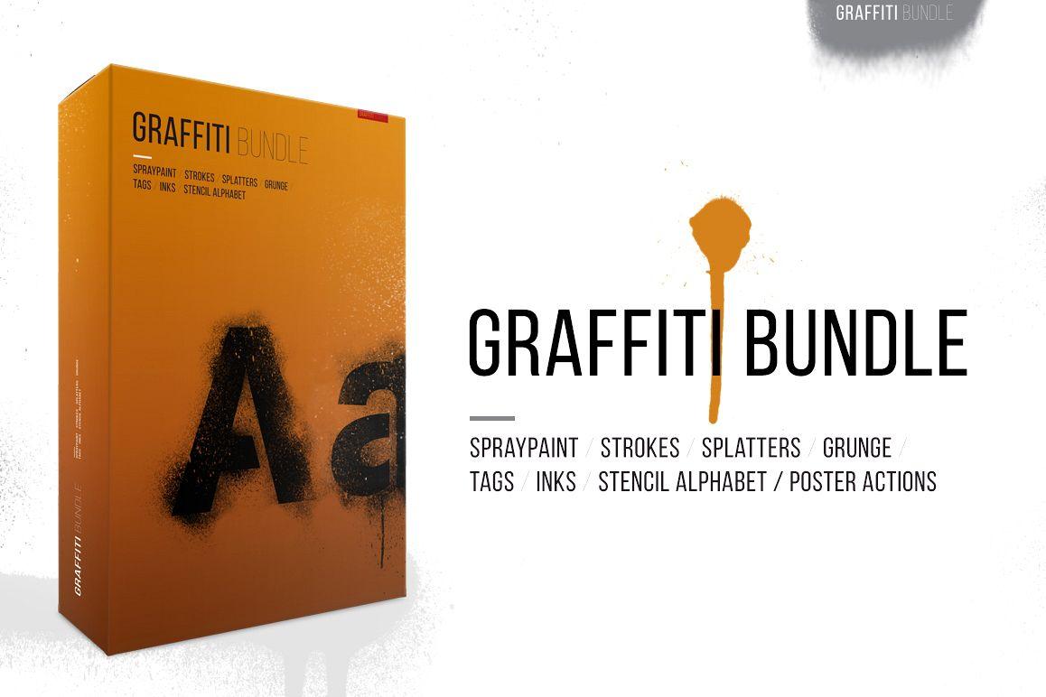 Graffiti Art Bundle example image 1