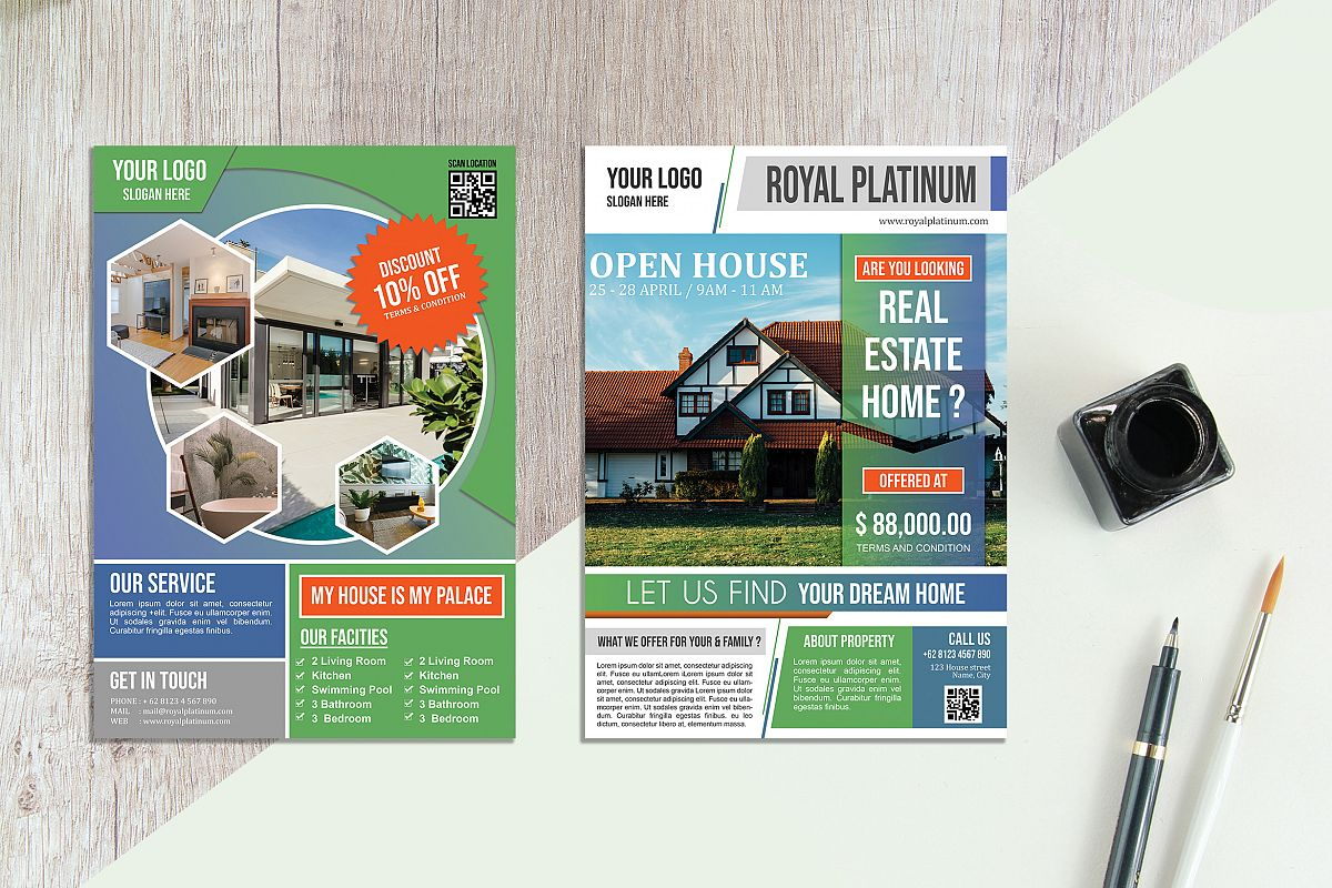 Real Estate Flyer vol.05 example image 1