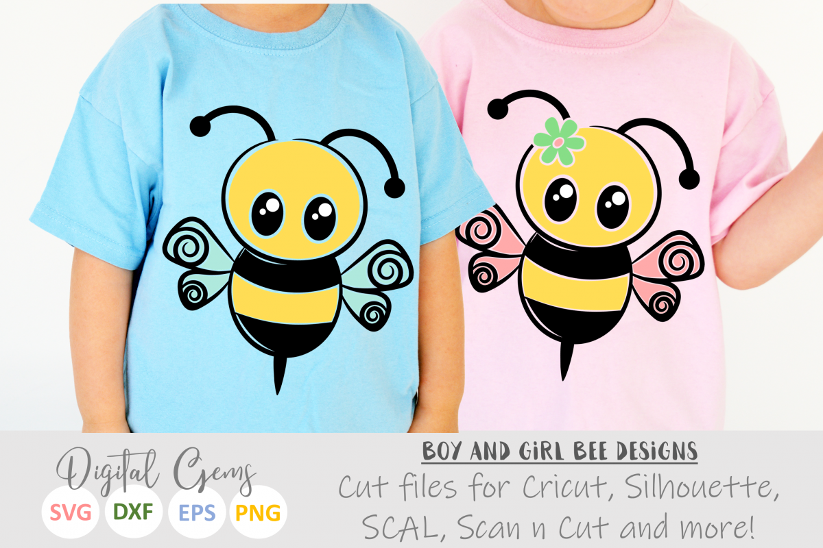 Mr and Mrs Bee SVG / EPS / DXF / PNG files example image 1