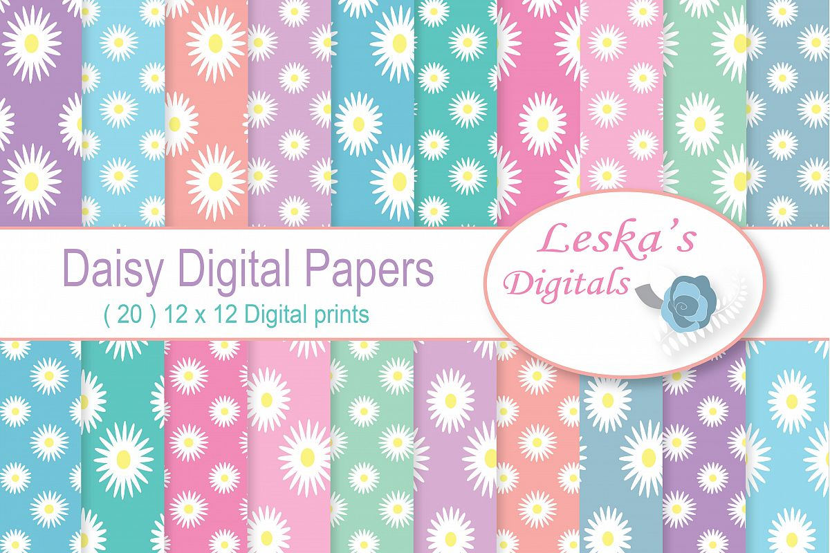 Daisy Digital Paper example image 1