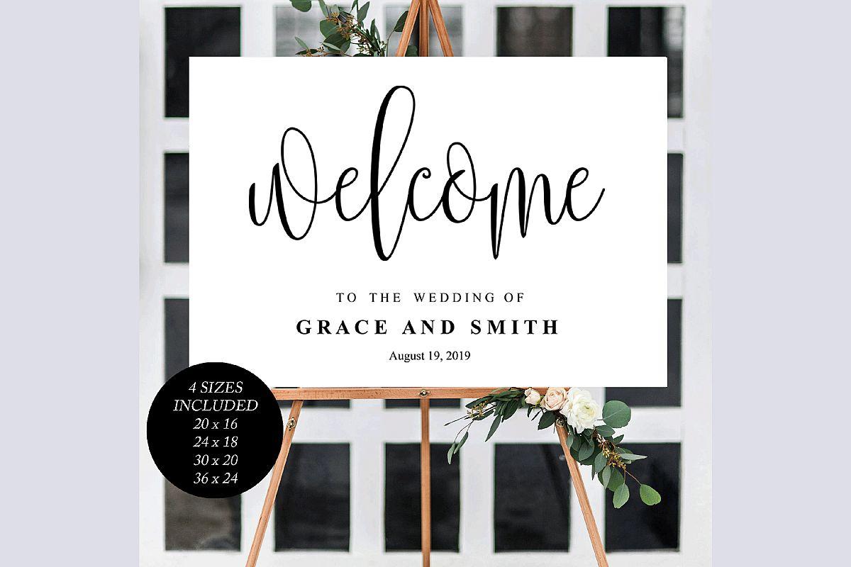 Wedding Welcome Template example image 1