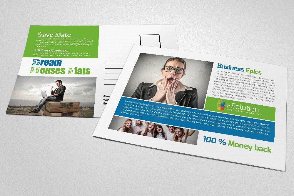 Business Marketing Postcards example image 1