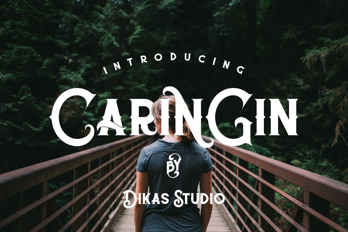 Caringin Typeface example image 1