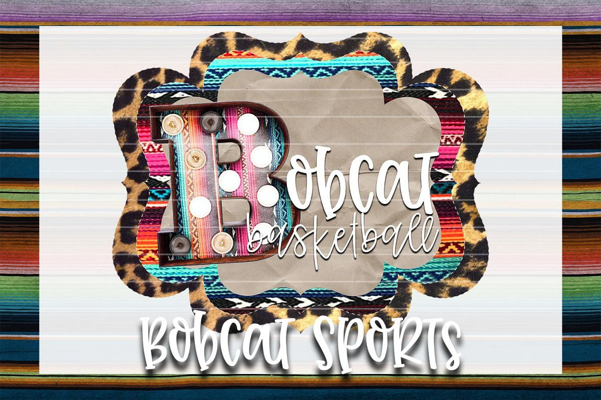Bobcat Basketball Sublimation PNG example image 1