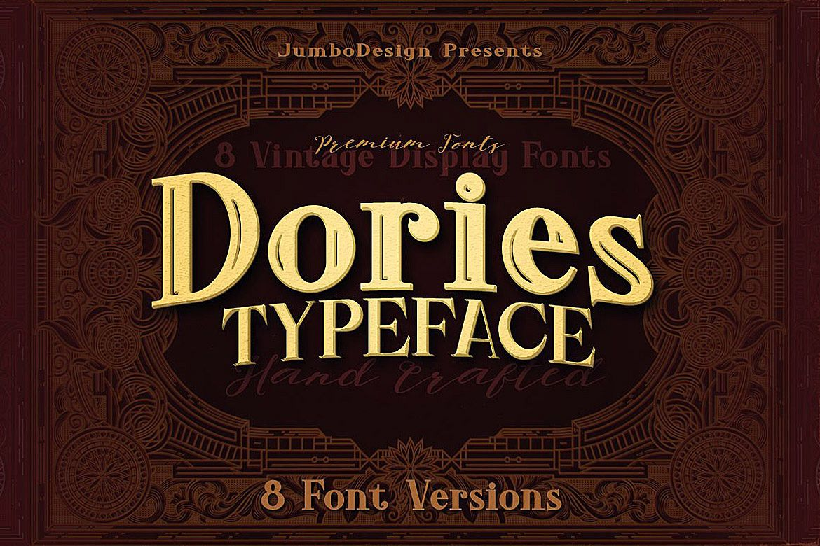 Dories - Display Font example image 1
