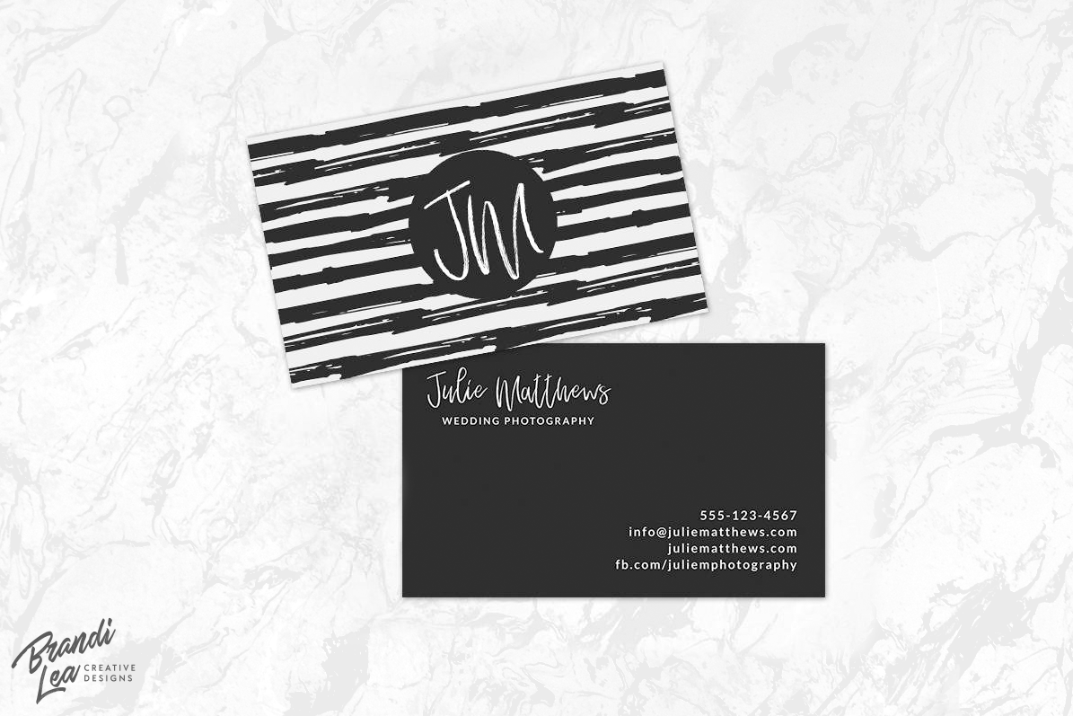 Black And White Business Card Template Design Bundles - White business card template