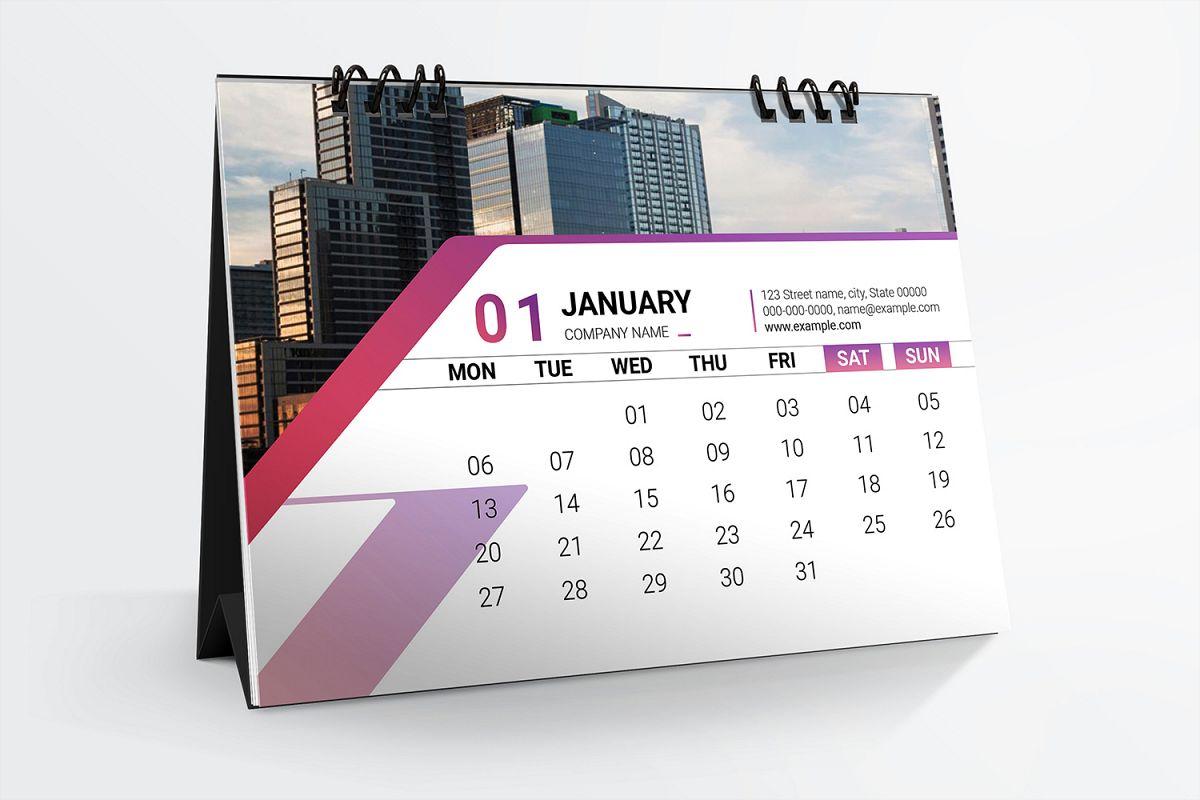 Desk Calendar 2020 example image 1