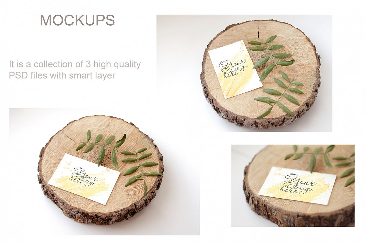 Stationery Mockup Card and Stock Photos example image 1