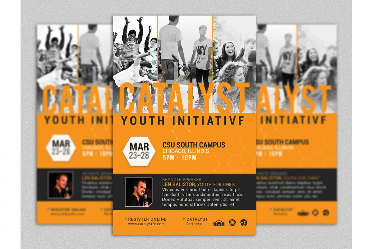 youth summit flyer template