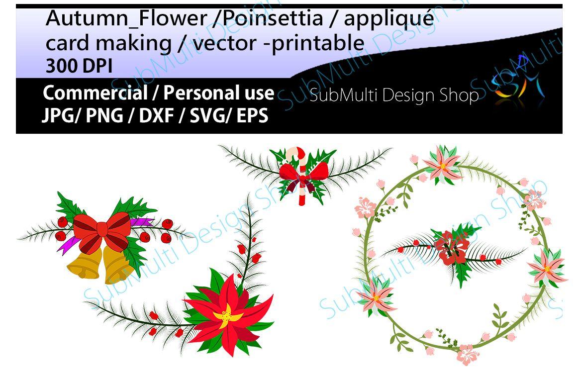 autumn flowers clip art poinsettia flower poinsettia clipart scrapbook wearth new year