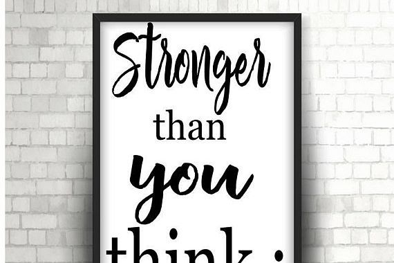 Semicolon Stronger Than You Think Instant Download Svg Dxf Png
