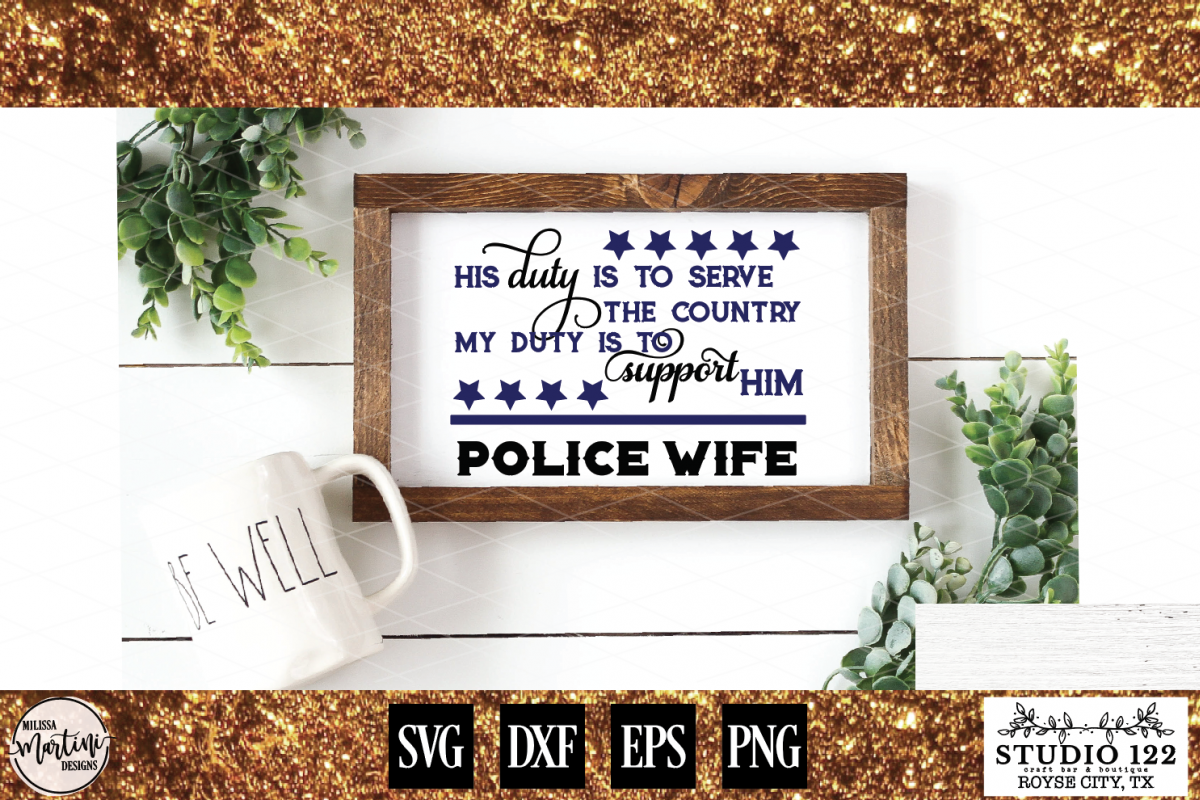 POLICE WIFE example image 1