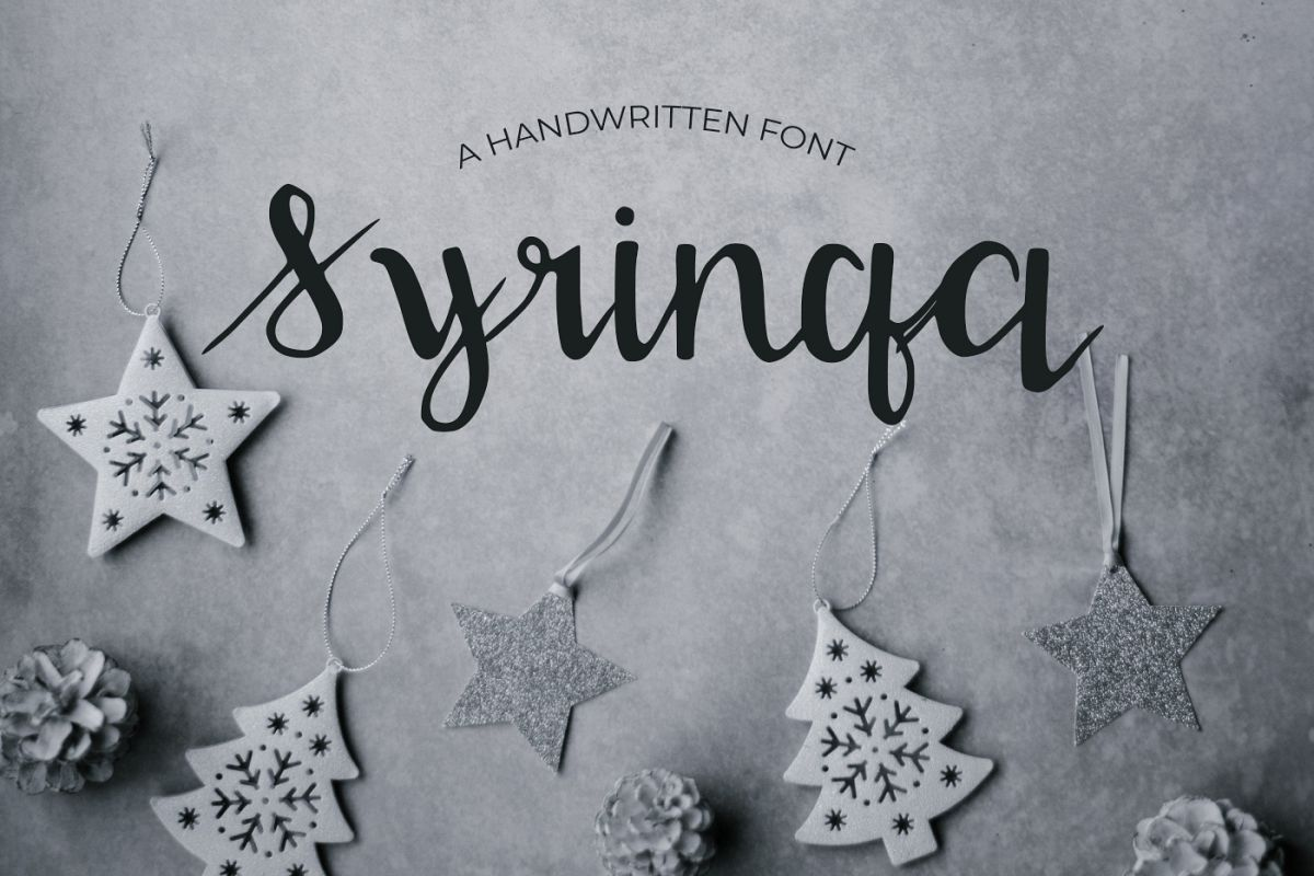 Syringa Font example image 1