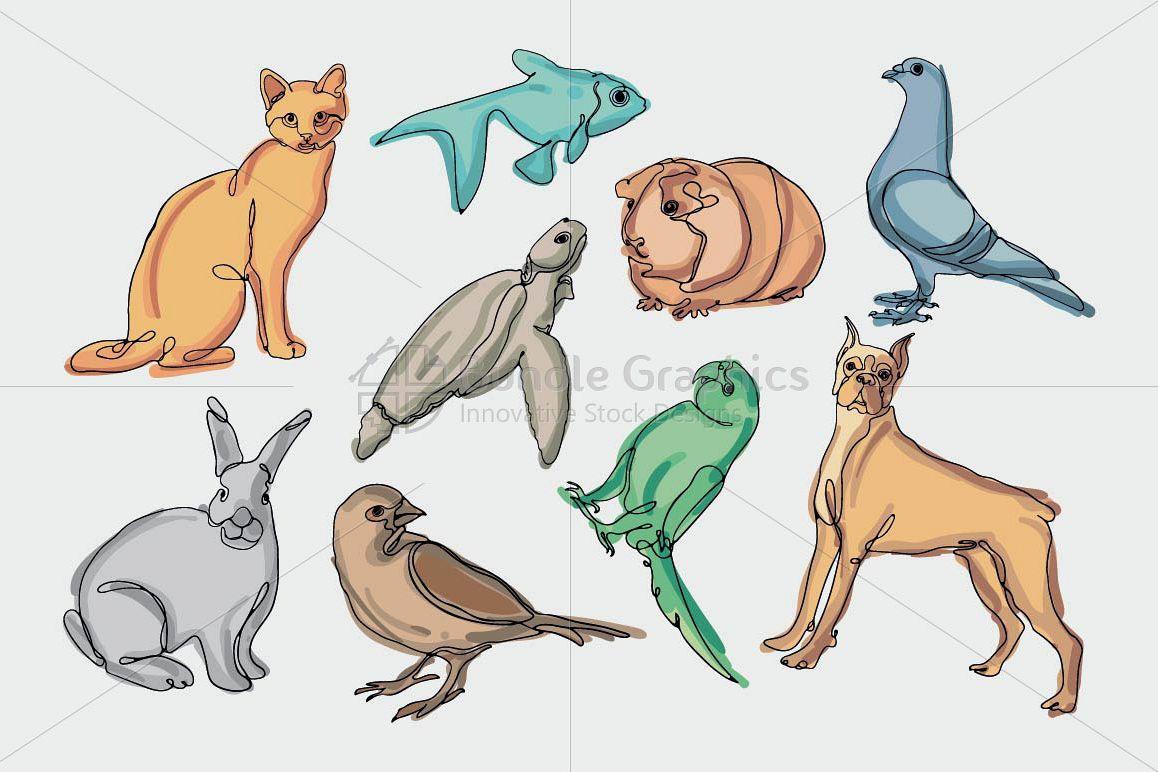 Animals & Birds Graphics example image 1