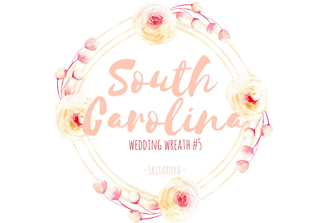 South Carolina. Wreath #5 example image 1
