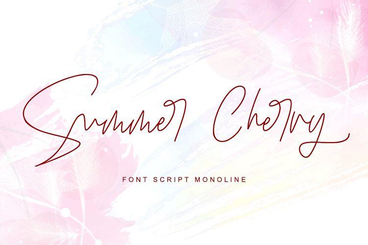Summer Cherry example image 1