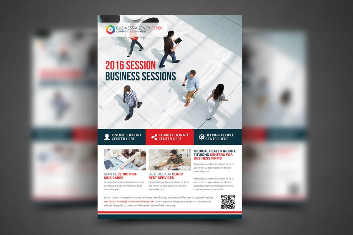Business Agency Flyer Template example image 1