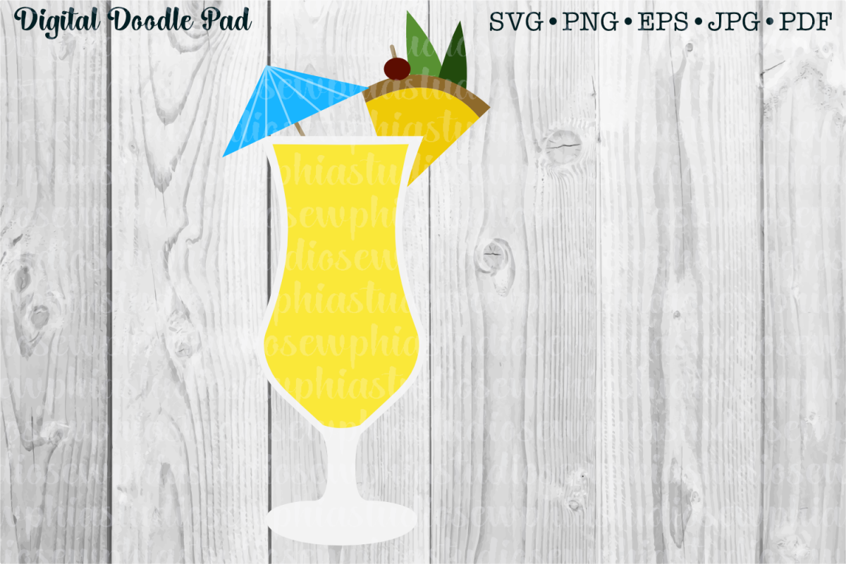 If You Like Pina Coladas by Digital Doodle Pad example image 1