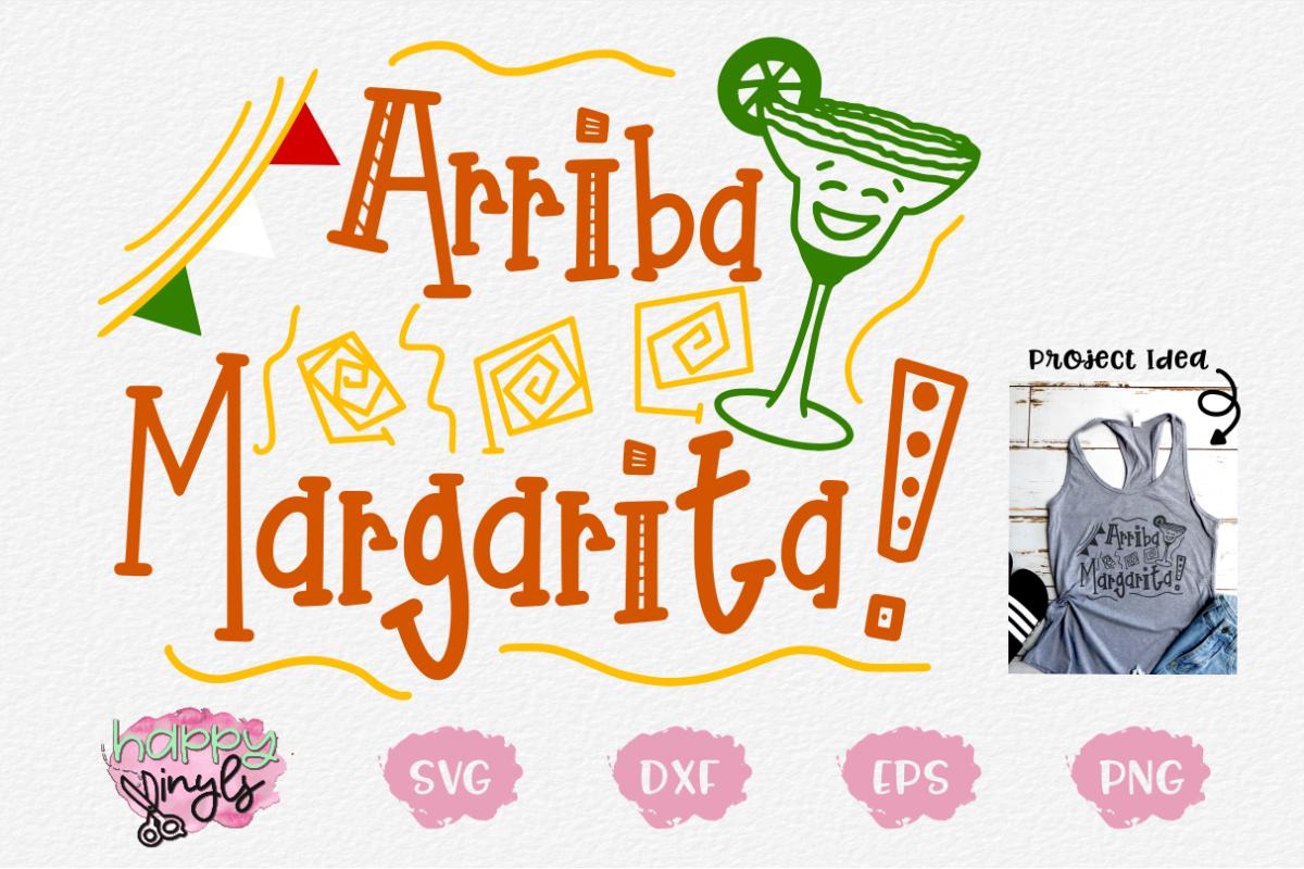 Arriba Margarita! - A Cinco De Mayo SVG example image 1