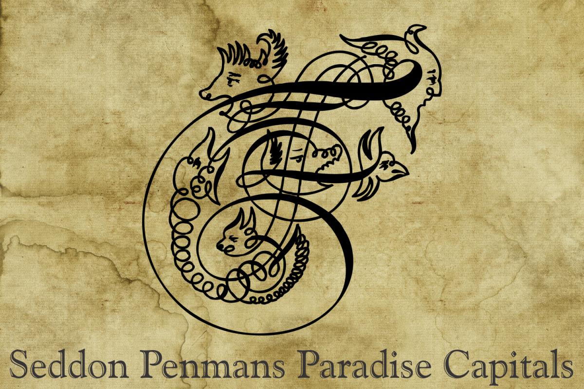 Seddon Penmans Paradise Capitals example image 1