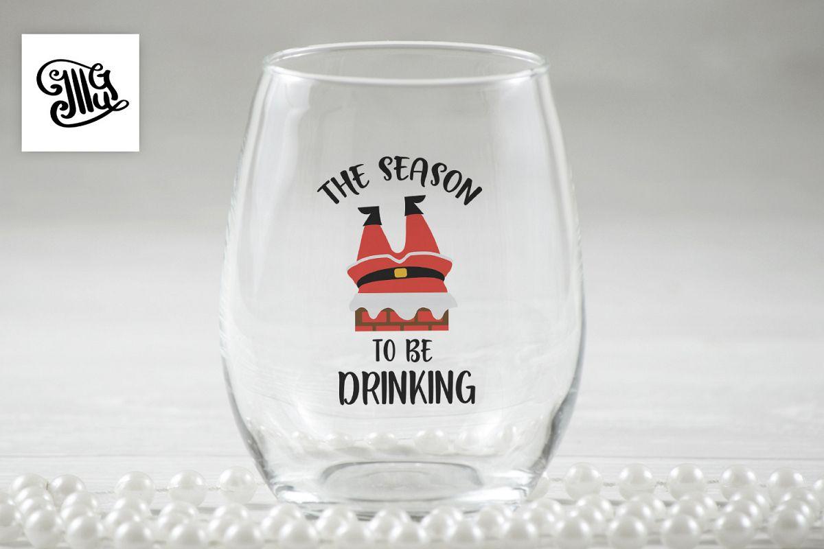 The season to be drinking - Christmas wine example image 1