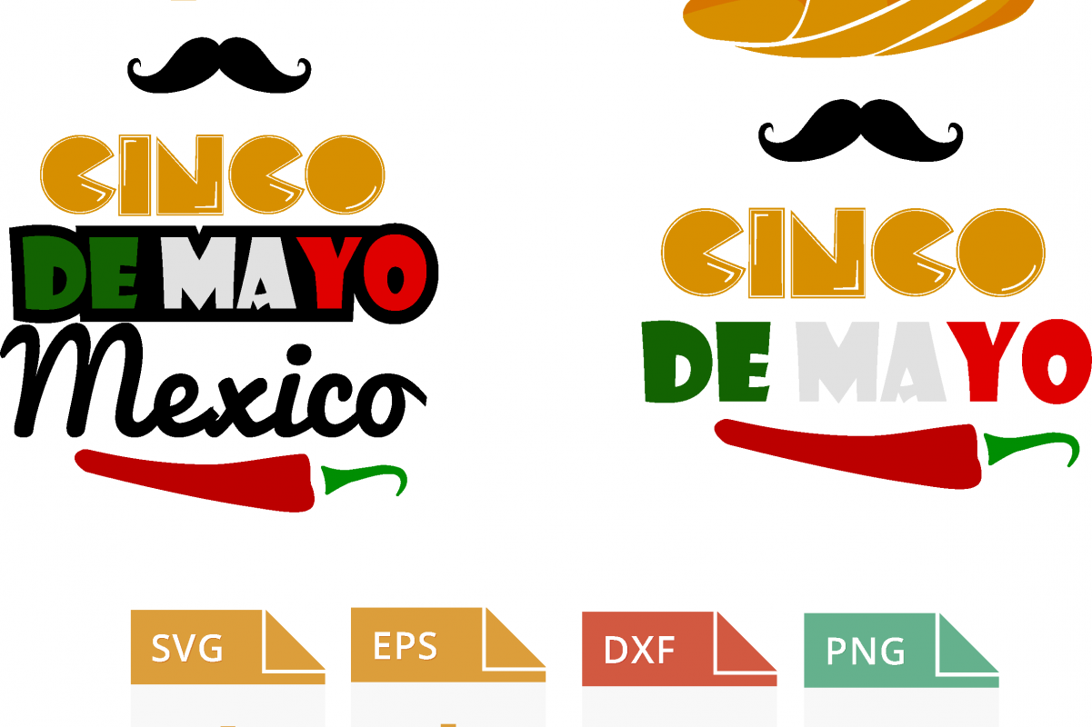 Cinco de Mayo clipart. Mexican holiday mariachi dancers, musicians, maracas, planner stickers, fiesta, commercial use example image 1