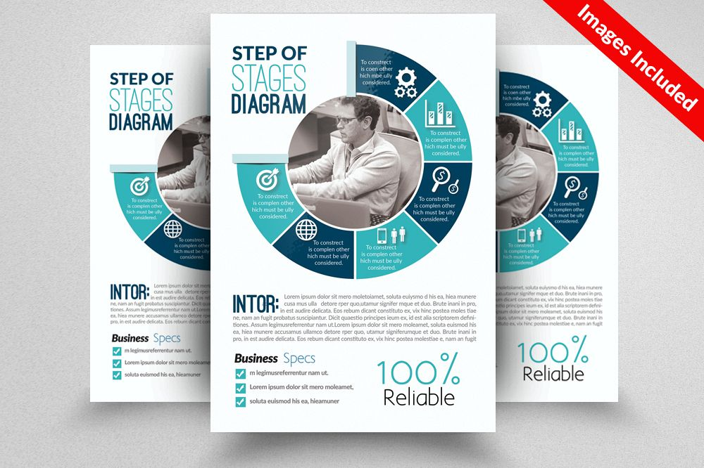 Business Strategy Campaign Flyer Templates example image 1