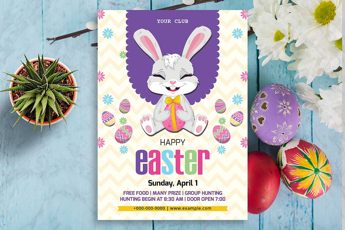 Easter Flyer Template example image 1