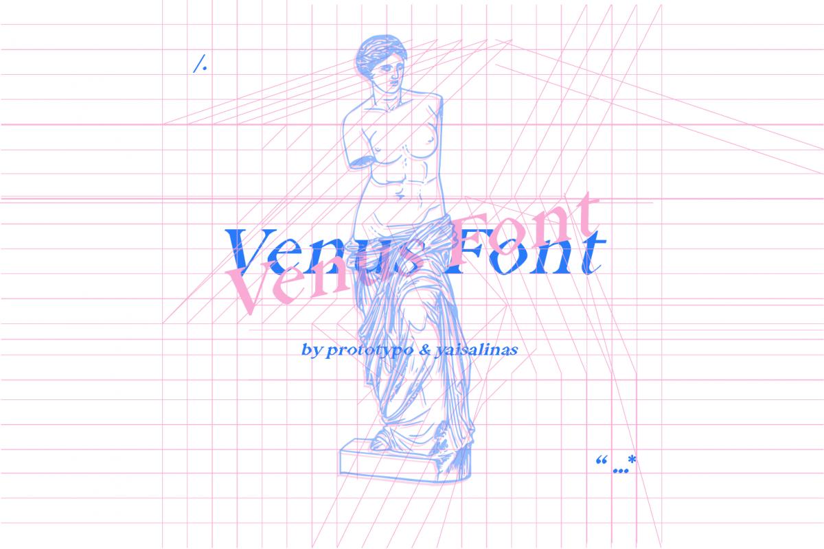 Venus Font example image 1