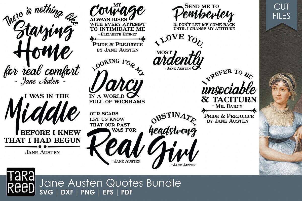 Jane Austen Quotes Bundle