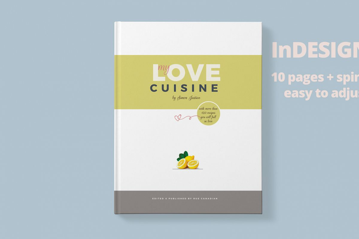 Recipe Book Magazine Template By Graphi Design Bundles - Indesign recipe book template