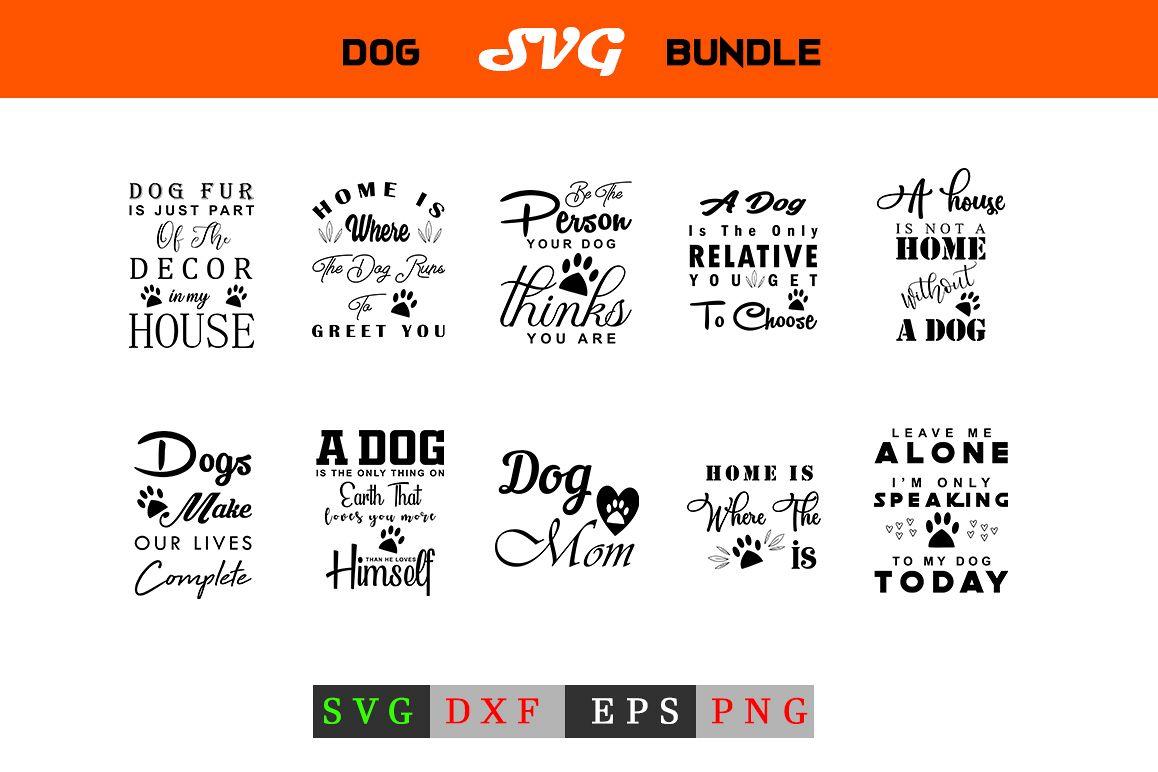 Dog SVG Bundle example image 1