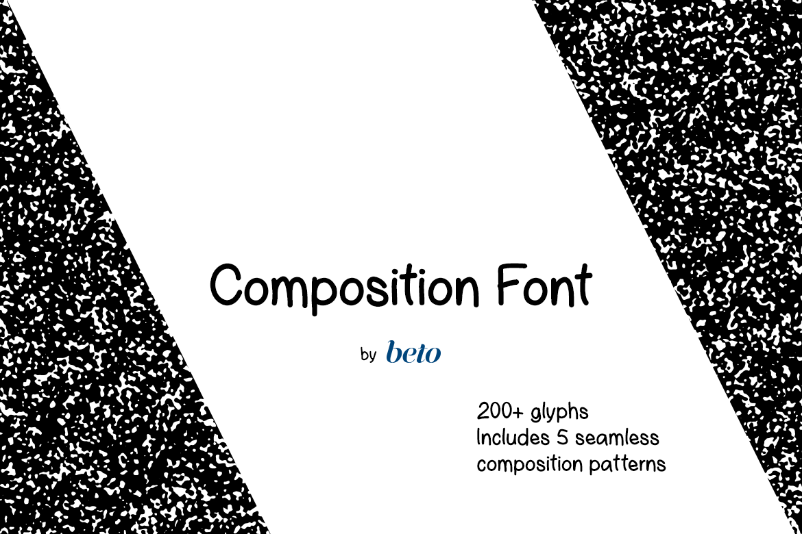 Composition Font  example image 1