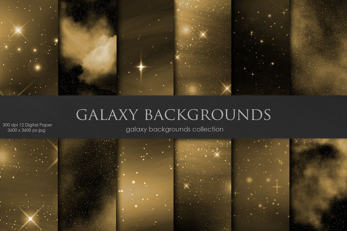 Galaxy, Space Brown Backgrounds example image 1