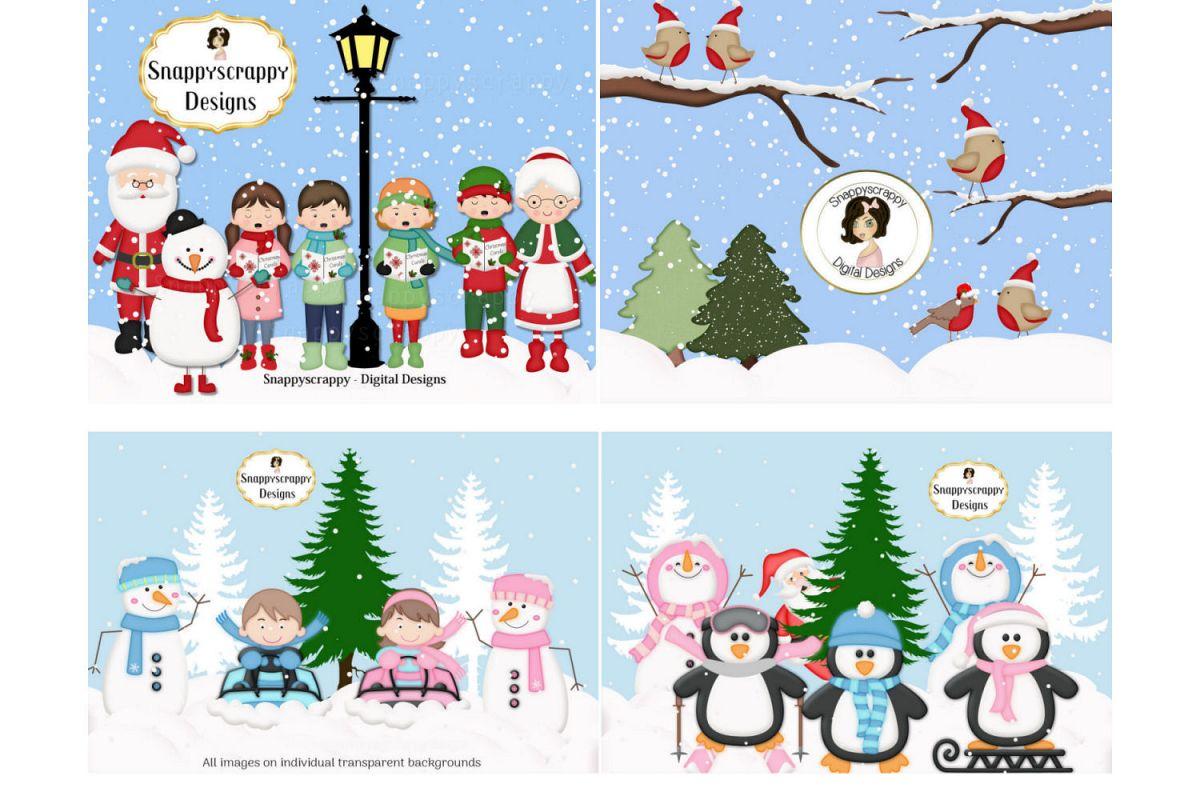 Christmas Clipart example image 1