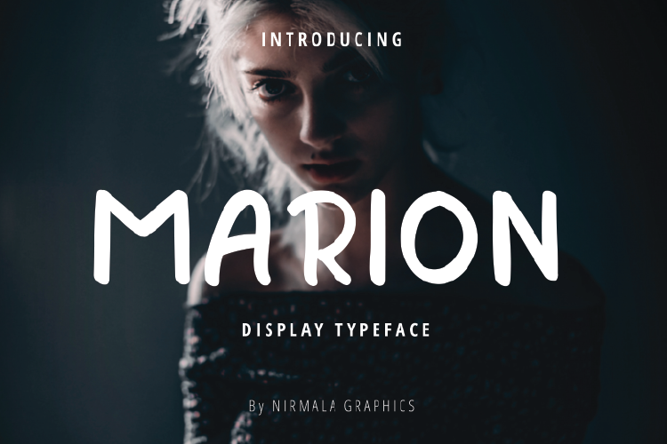 Marion - Display Typeface example image 1