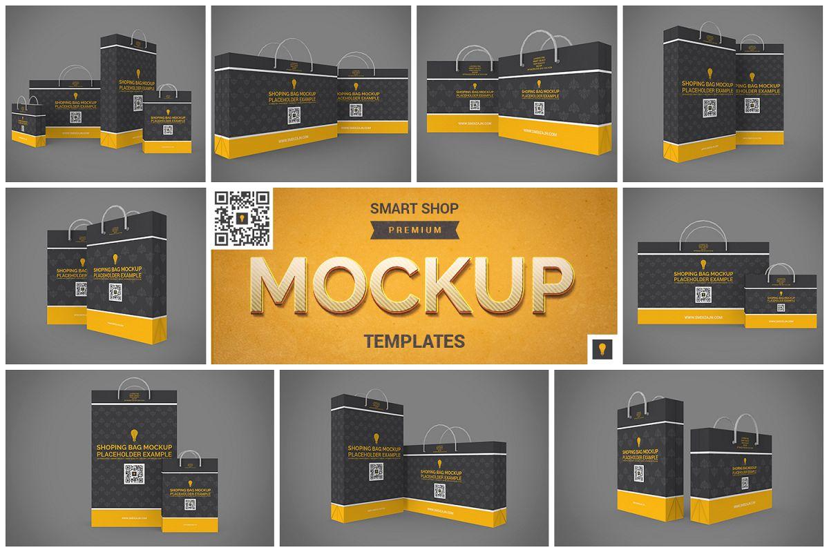Shopping Bag Mock-up example image 1