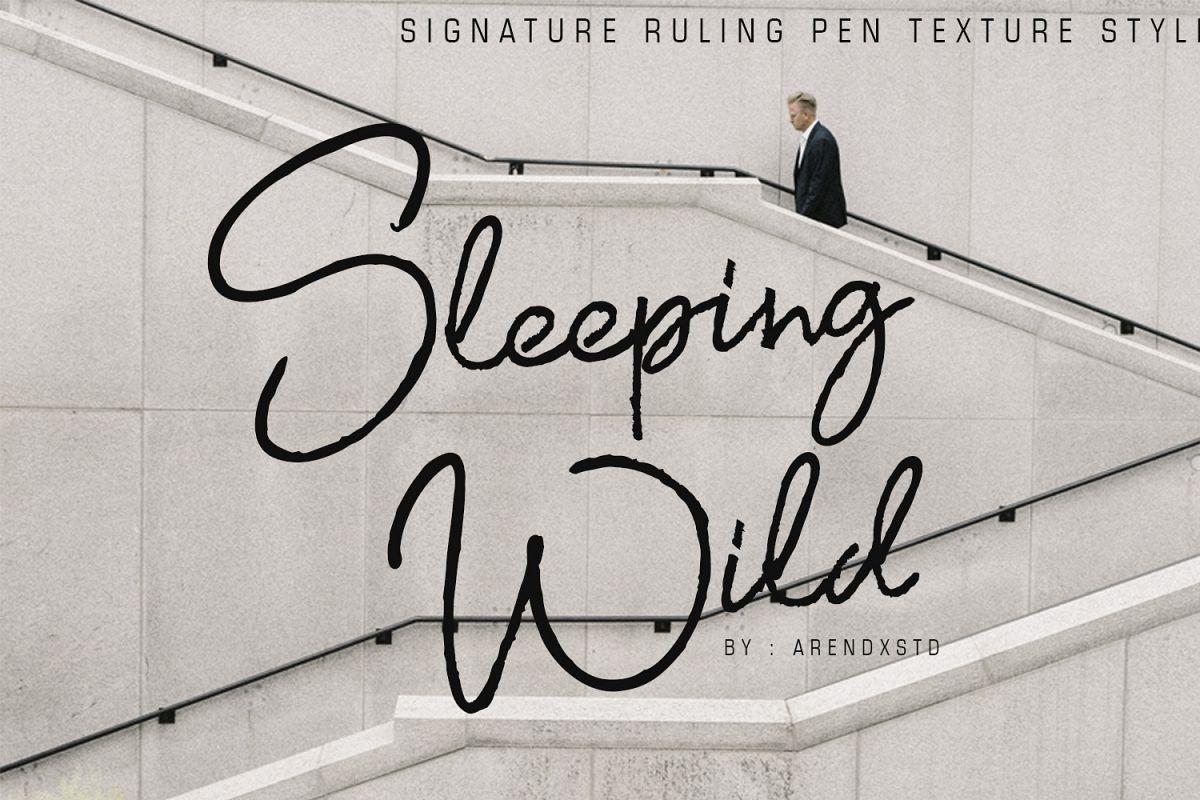 Sleeping WIld Signature example image 1