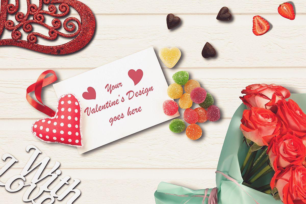 Valentine Card Mock-up #4 example image 1