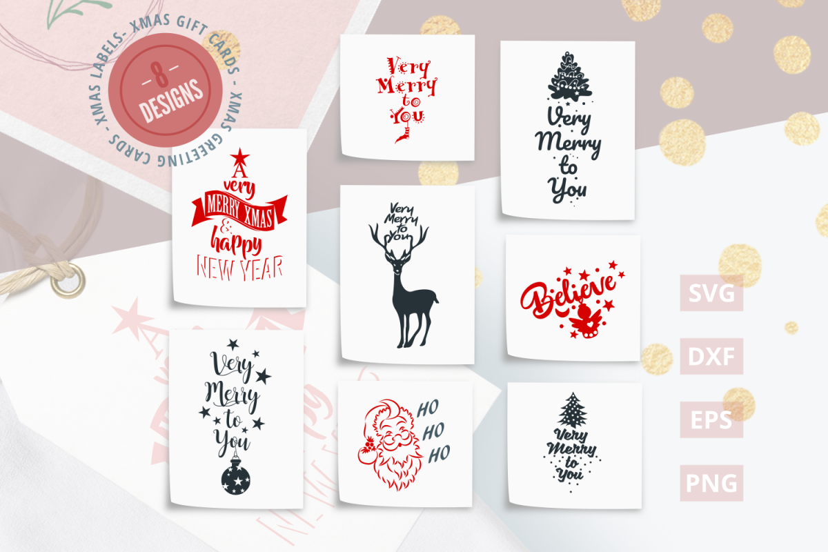 Christmas Quotes Svg.Christmas Quotes Svg Cut Files Svg Dxf Eps Png
