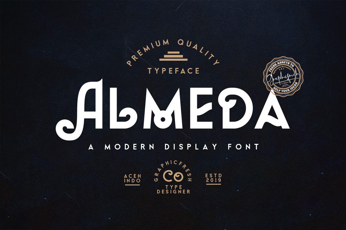 Almeda // A Modern Vintage Font example image 1