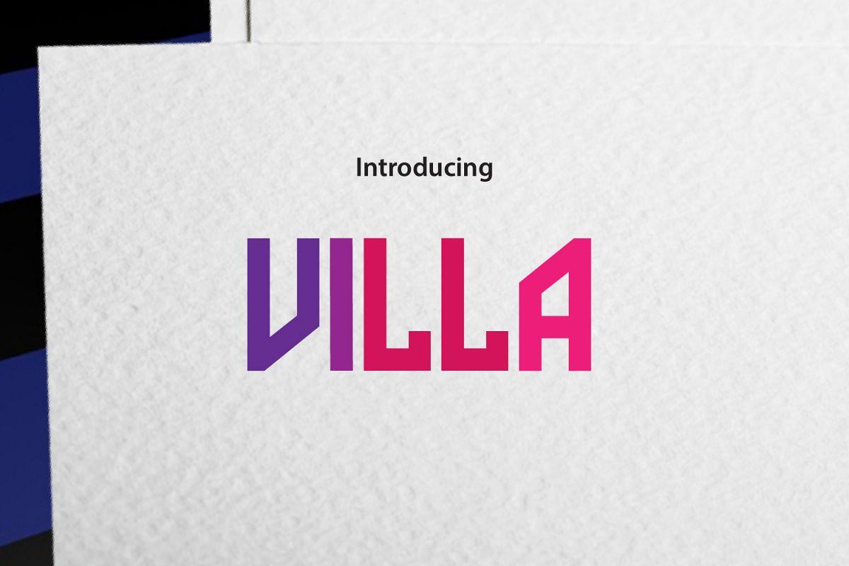 VILLA example image 1