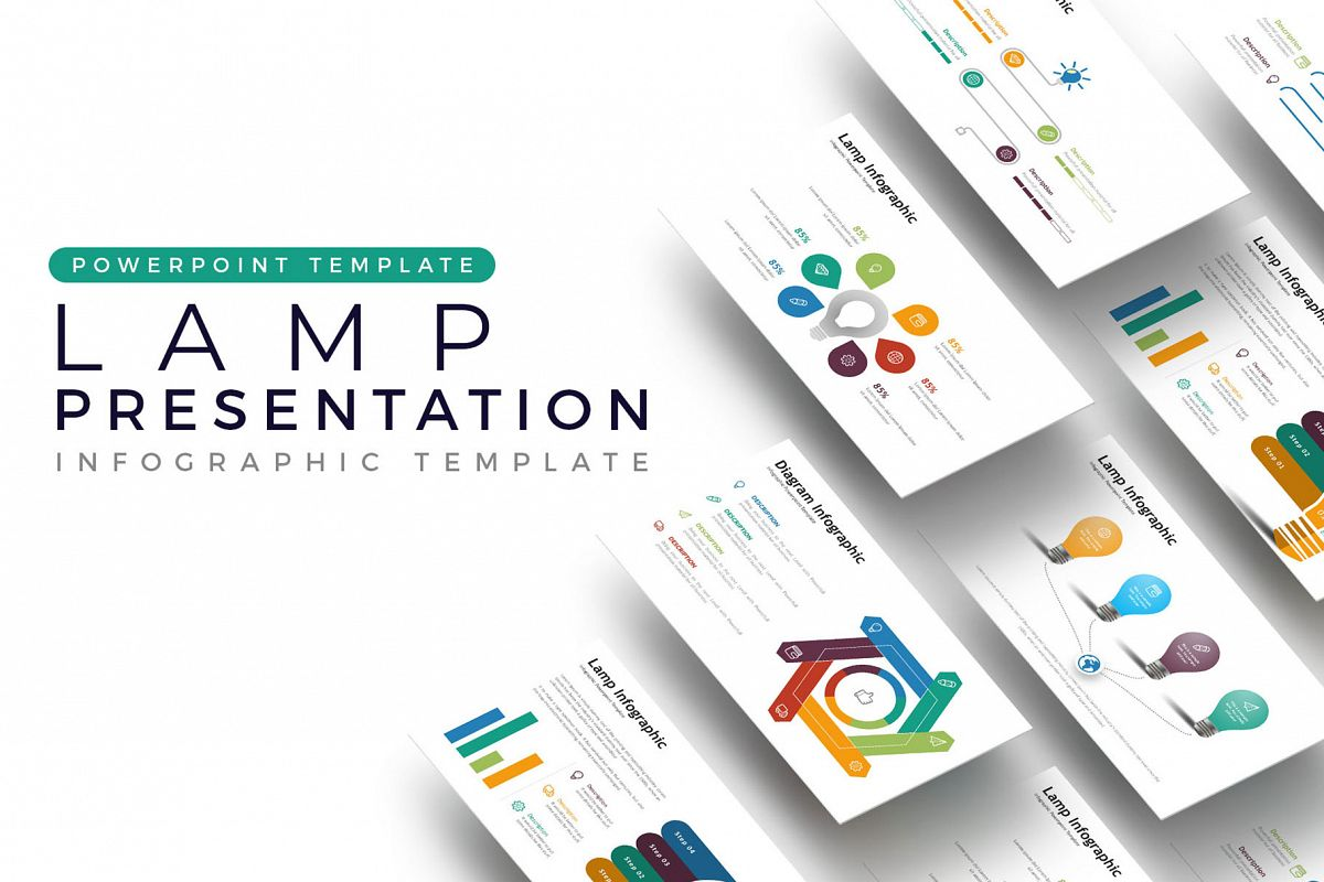 Lamp Presentation - Infographic Template example image 1