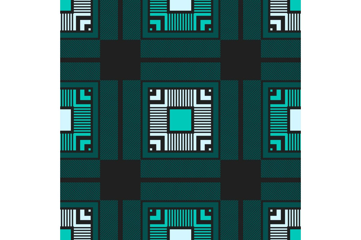 Tartan texture. Set of 10 seamless patterns. example image 1