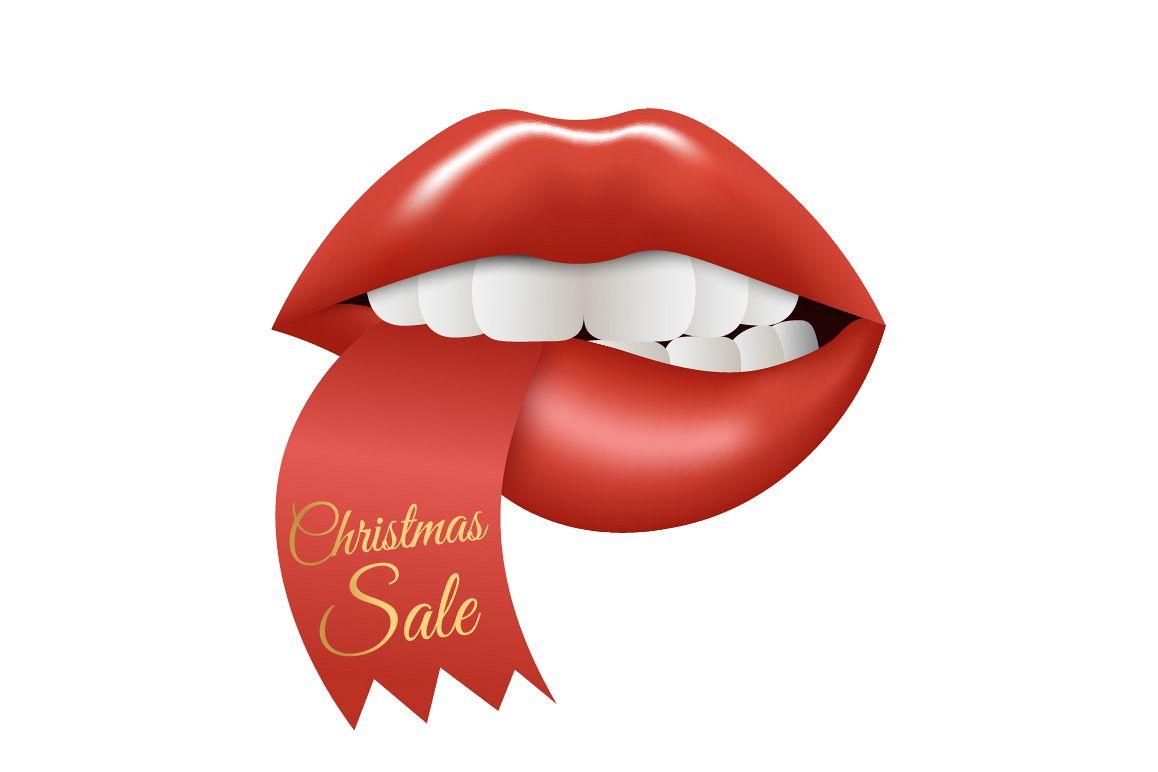 Christmas Sale. Lips example image 1