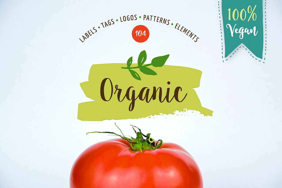 Bio, Organic, Natural & Vegan labels example image 1