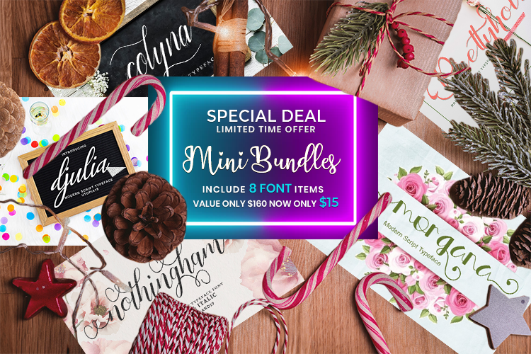 Special Deal - Mini Bundles example image 1