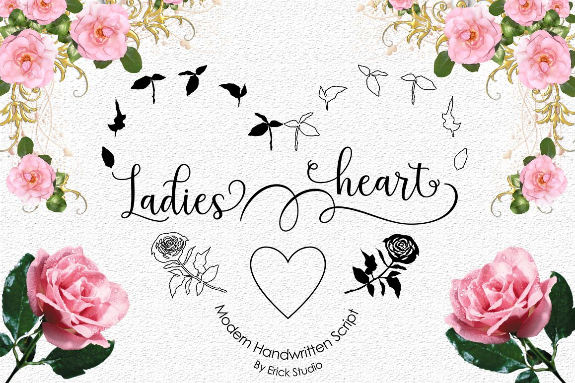 Ladies heart example image 1