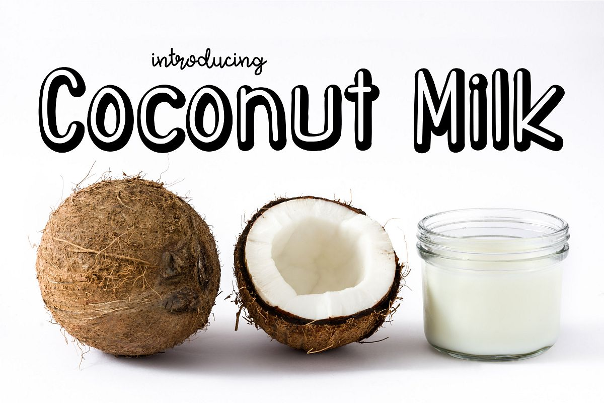 Coconut Milk example image 1